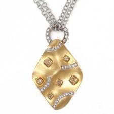 18K Two-Tone Gold Necklace